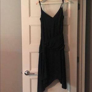 Laundry by Shelli Segal Strappy Black Dress Sz 10